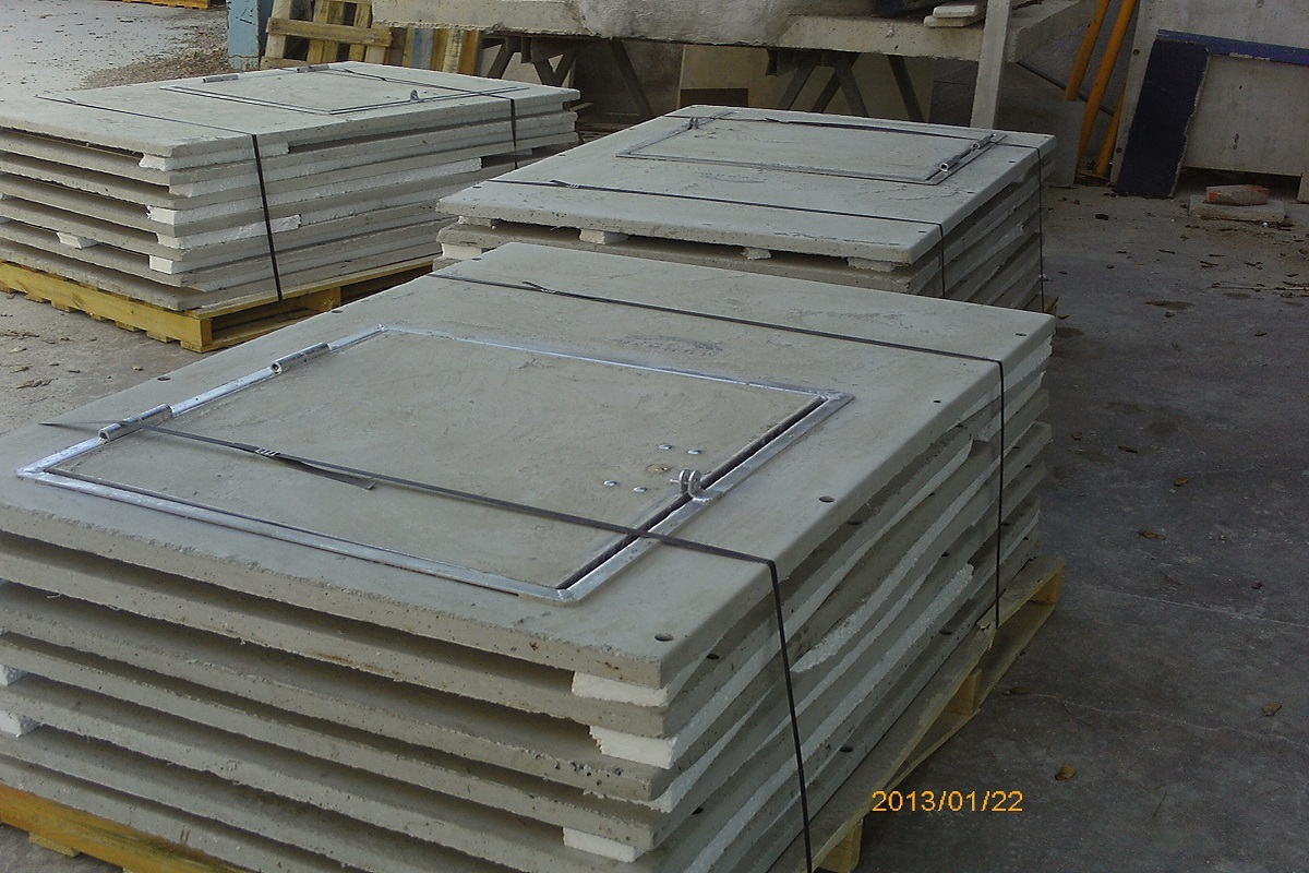 Caseta hormigón 650 colector