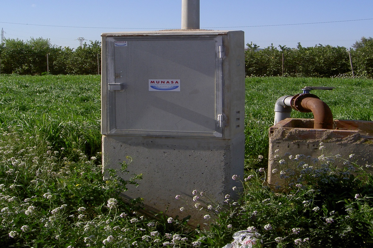 Caseta electrica telemando, energia solar