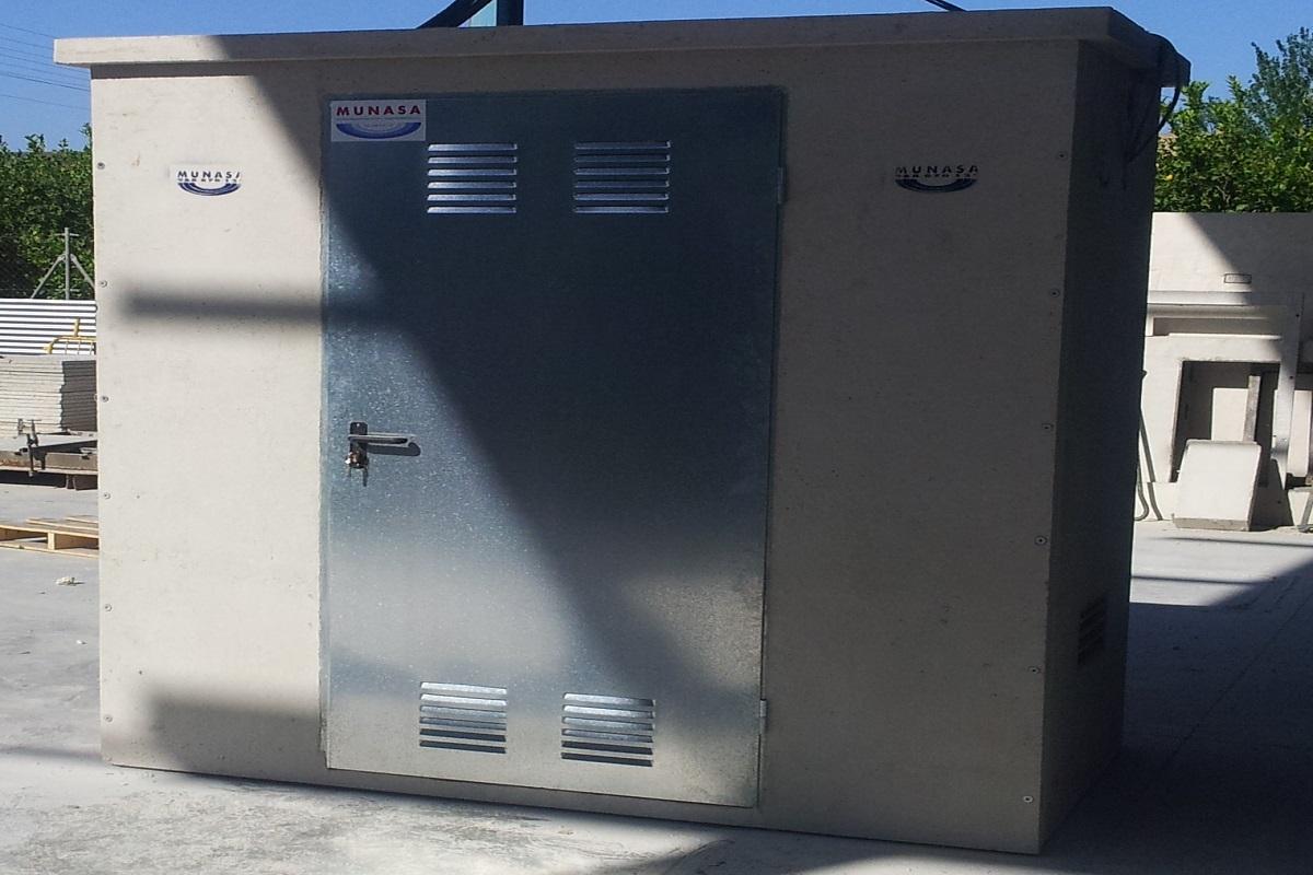 Caseta colector abonadora hidrantes